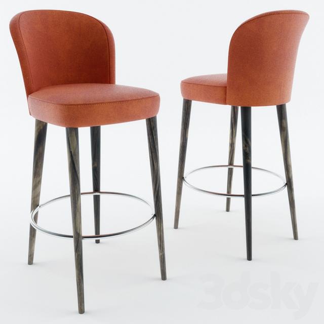 3d Models Chair Montbel Rose 03081
