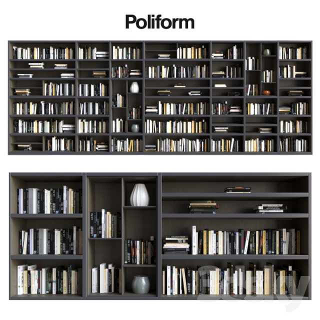 3d models: Wardrobe & Display cabinets - POLIFORM VARENNA SISTEMI ...