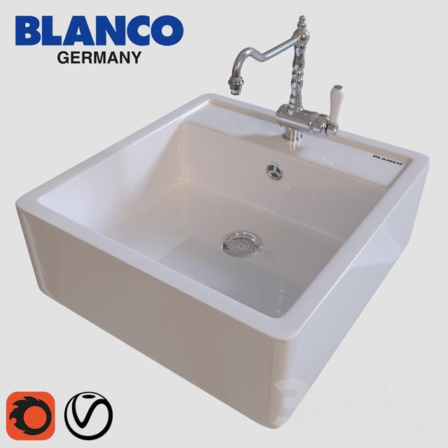 3d Models Sink Kitchen Sink Bill Blanco Panor 60