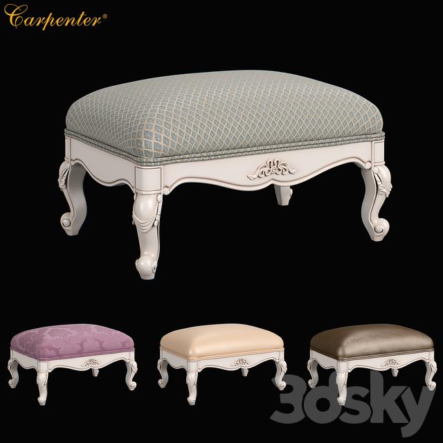 230 Carpenter Casual chair foot stool 683x483x305
