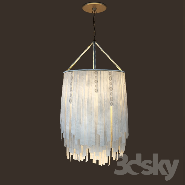 Chandelier In The Style Of Boho Chic