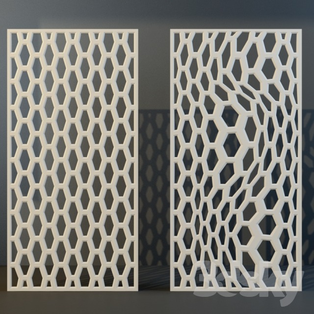 3d models other decorative objects decorative panel of mdf for Decorative mdf