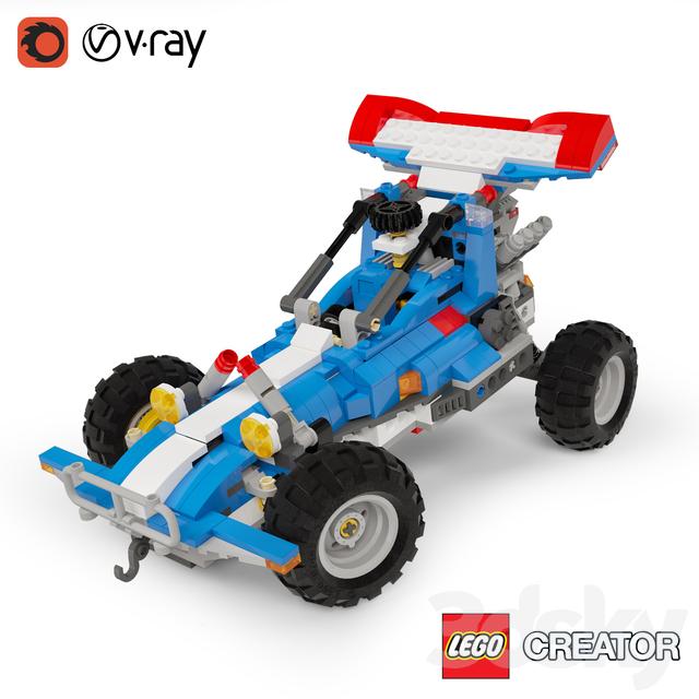 3d models: Toy - LEGO Creator 5893 Part 3