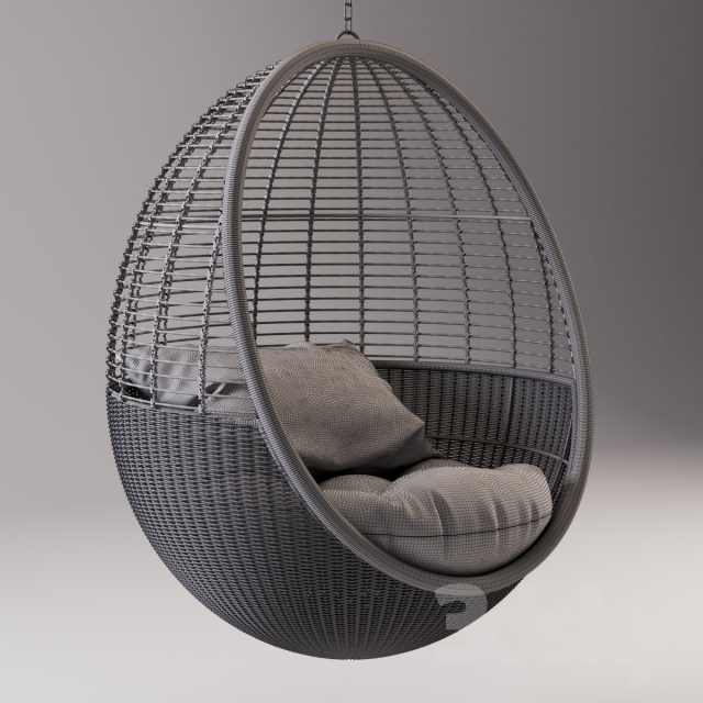 3d models: Arm chair - Pod Hanging Chair