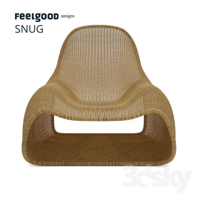 3d models arm chair feelgood designs snug. Black Bedroom Furniture Sets. Home Design Ideas