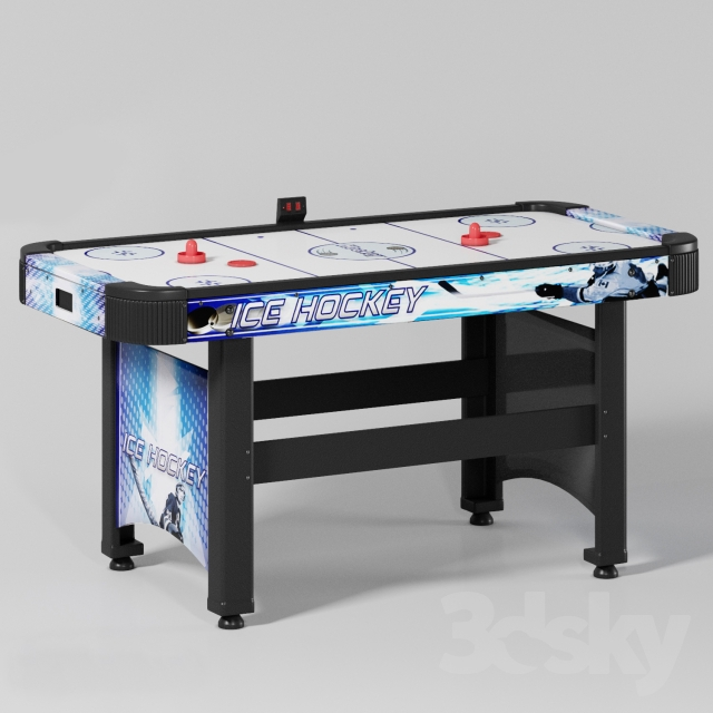 3d Models Sports Hathaway Face Off 5 Ft Air Hockey Table