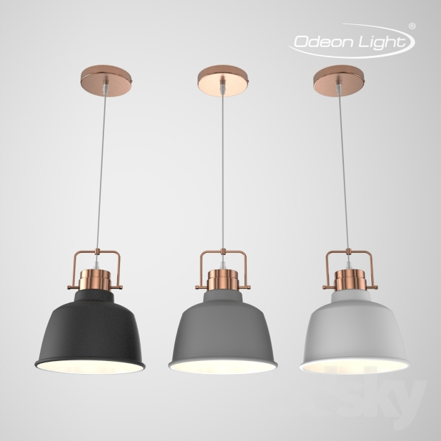 Models Ceiling Light Suspension Odeon Sert 3324