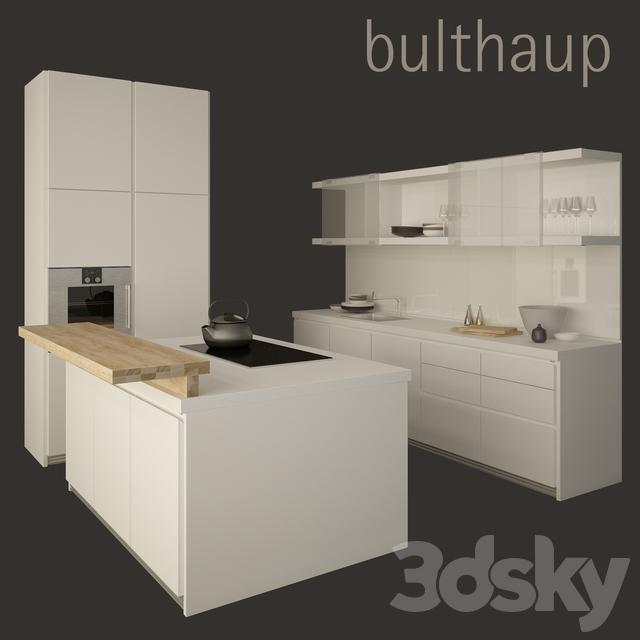 Bulthaup B1 3d models kitchen kitchen bulthaup b1