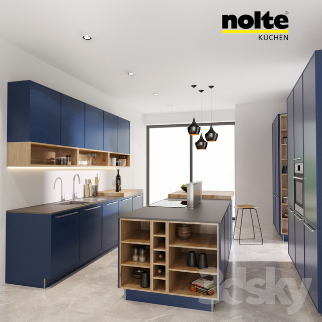 3d Models Kitchen Nolte Kuchen