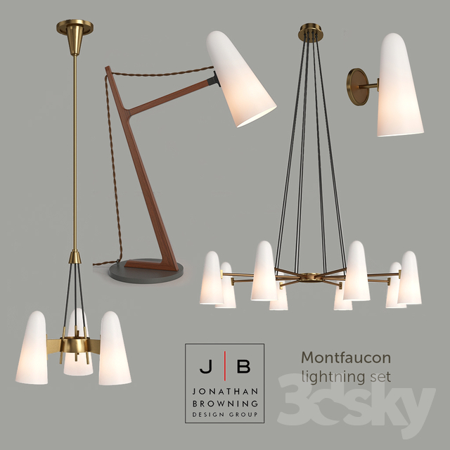 jonathan browning lighting. Contemporary Jonathan Jonathan Browning Montfaucon Set Intended Lighting O