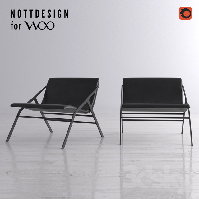 Iggy Chair for Woo by Nottdesign
