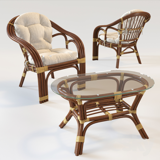 Markos table and chair