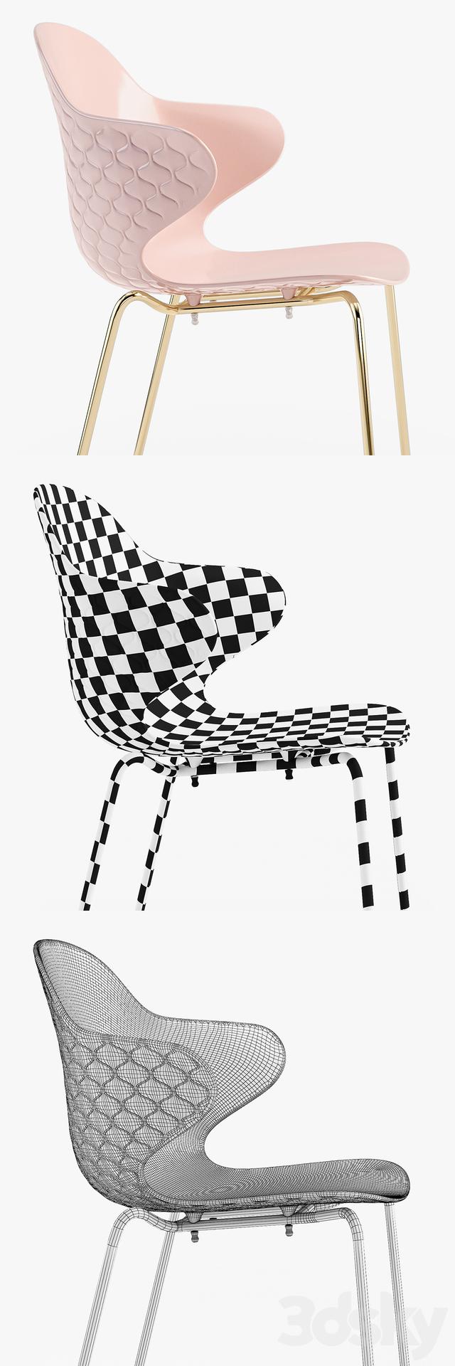 3d Models Chair Calligaris Saint Tropez Chair