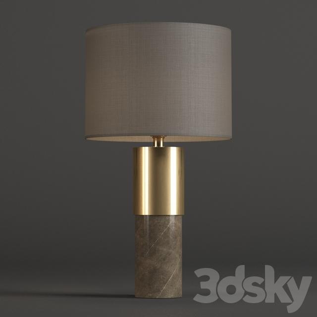 3d models table lamp john lewis akani table lamp