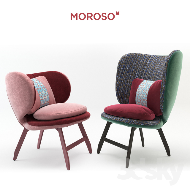 Attrayant Ariel Small Armchair U0026 Ayub Armchair By Moroso
