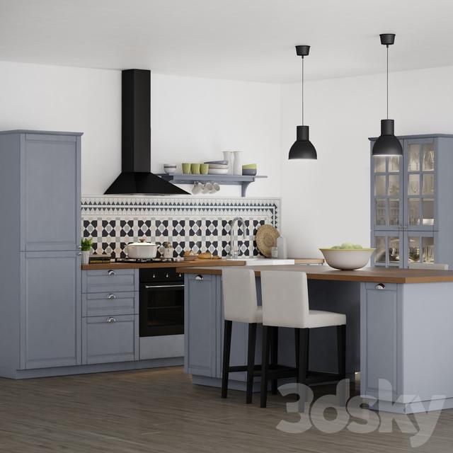 Ikea 3d Models 3d Ikea Kramfors Sofa High Quality 3d