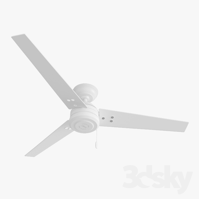 Ceiling Fan - Hanter Cassius white