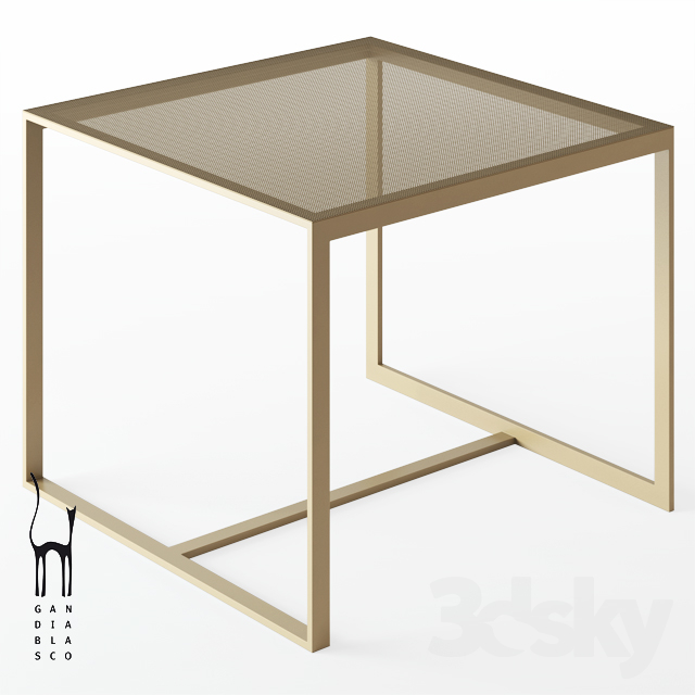 GANDIABLASCO / Blau High Table
