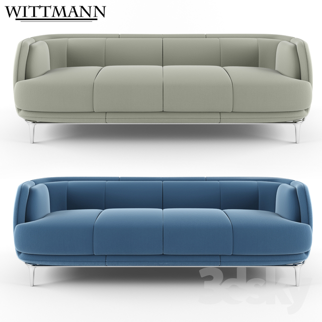 3d models sofa wittmann vuelta sofa four seats. Black Bedroom Furniture Sets. Home Design Ideas