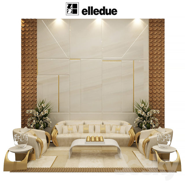 3d models other elledue arredamenti aqvila sofa set for Mab arredamenti