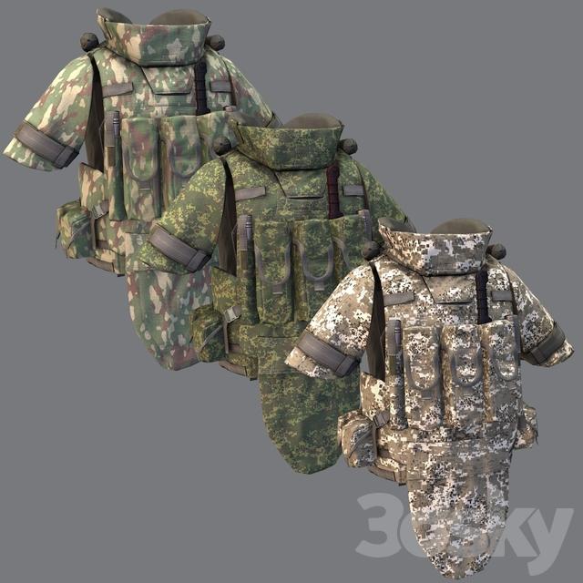 Combined-arms assault bulletproof vest 6B43