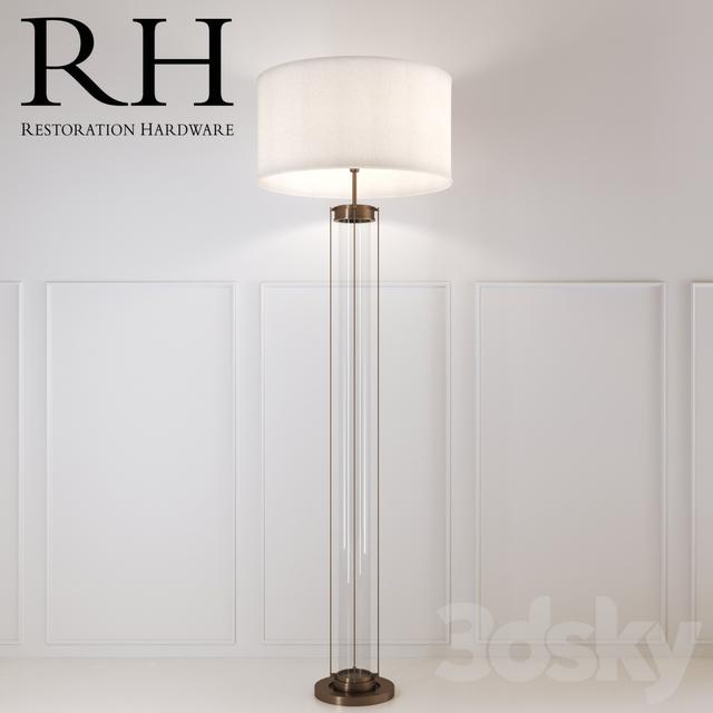 Brass Floor Lamp Restoration Hardware Lamp Decorating Ideas