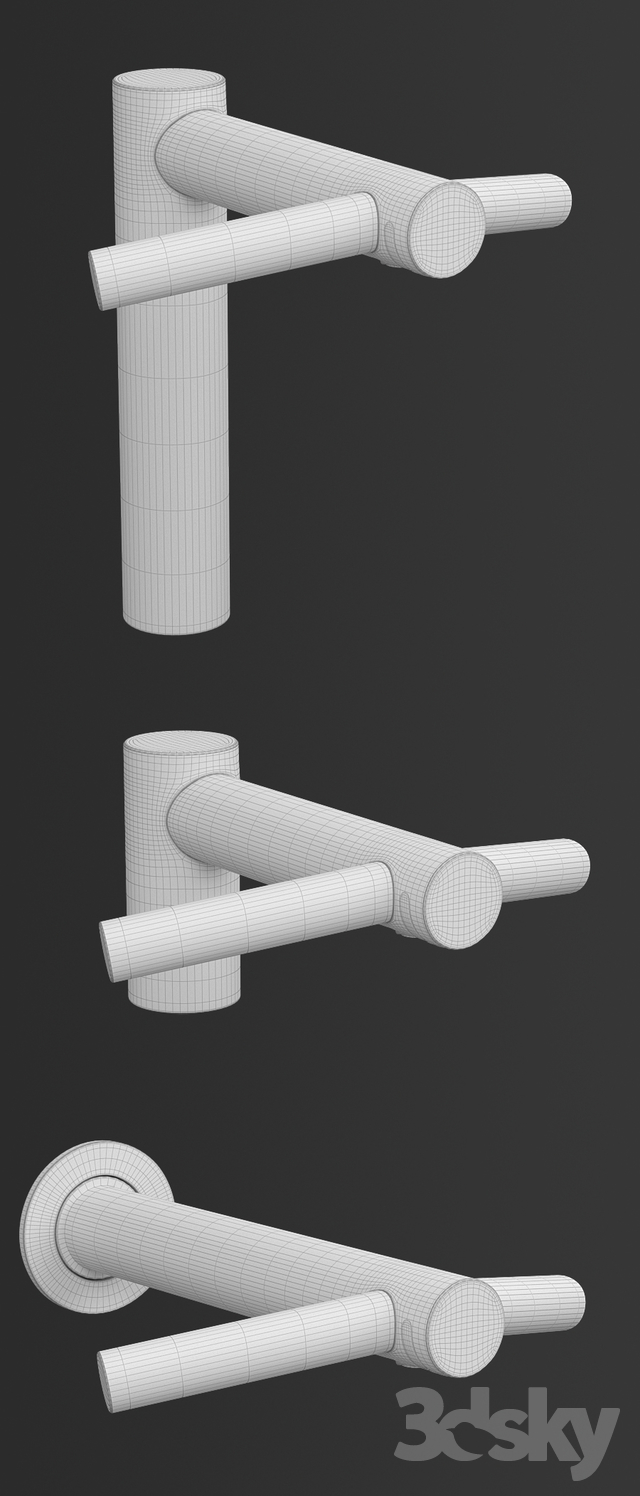 3d models: Bathroom accessories - Dyson Airblade Tap