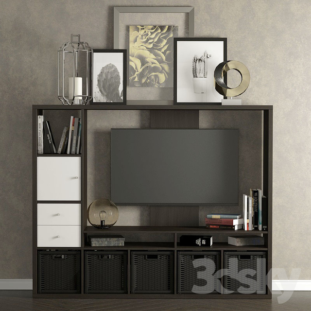 3d models other tv cabinet ikea lappland for Tv armoire ikea