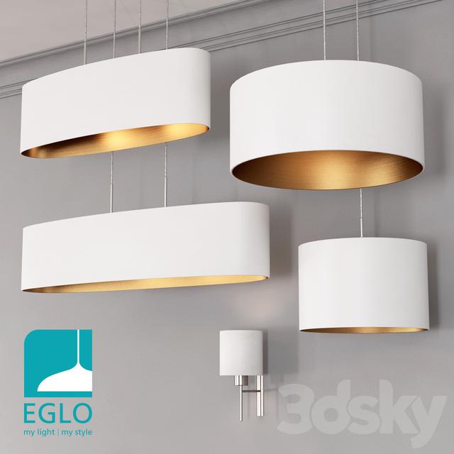 EGLO PASTERI set 3 White & Gold