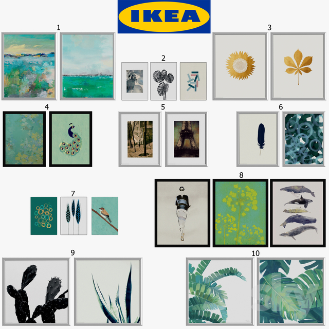 IKEA Pictures - Trilling & Tvilling