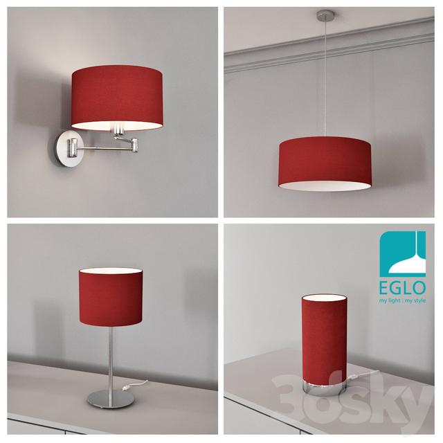 EGLO PASTERI set 5 RED