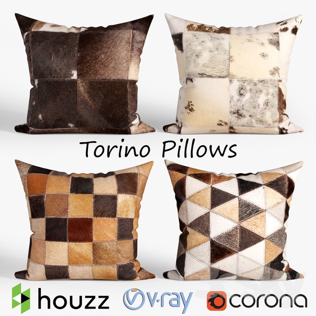 Decorative pillows Houzz_Torino set 052