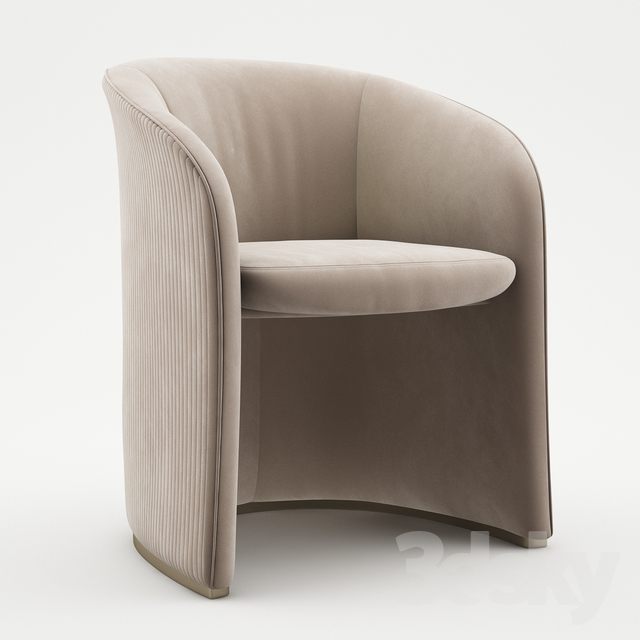 3d models: Arm chair - Carmen armchair - Visionnaire Home ...