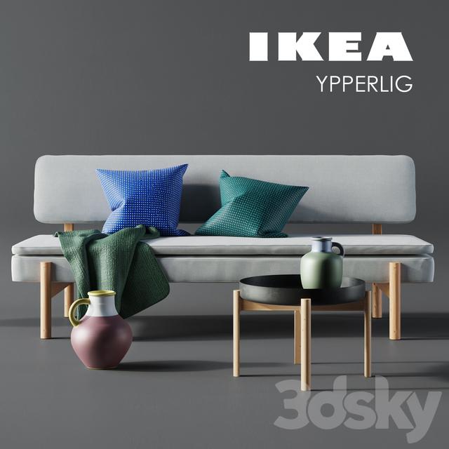 3d Models Sofa Ikea Ypperlig Corona