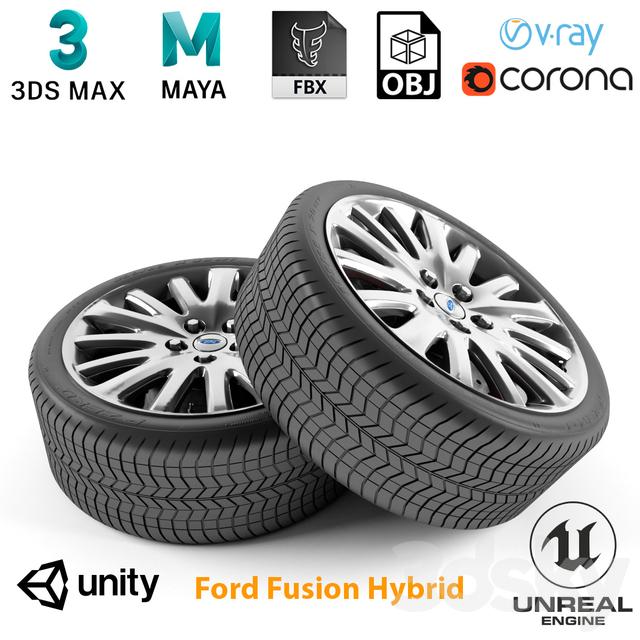 Ford Fusion Hybrid Wheel