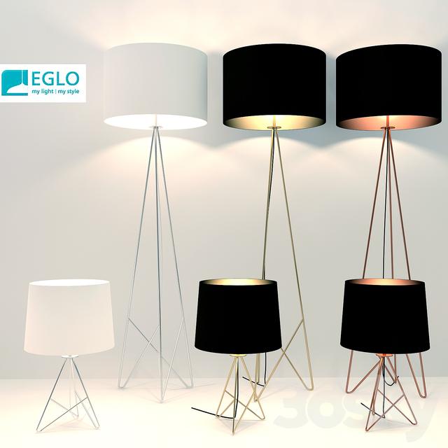 Eglo Floor Lamp And Desk Top
