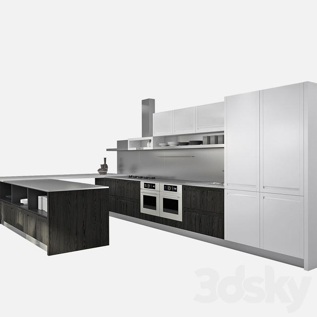 3d models kitchen kitchen ged cucine treviso - Ged cucine treviso ...