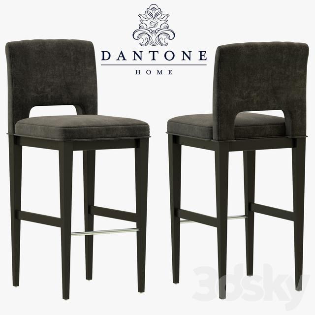 Stupendous 3D Models Chair Dantone Home Douglas Bar Stool Machost Co Dining Chair Design Ideas Machostcouk