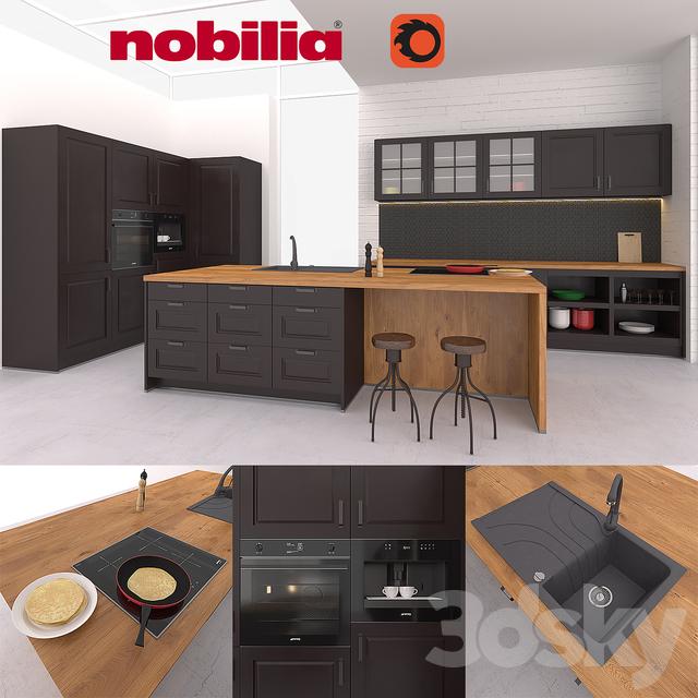 3d Models Kitchen Nobilia Sylt 851