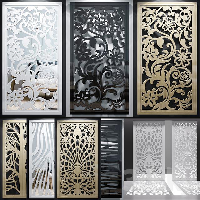 Set of decorative panels_11