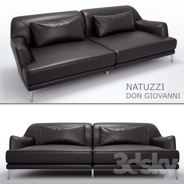 Sofa Natuzzi Don Giovanni (V-Ray 3.6)