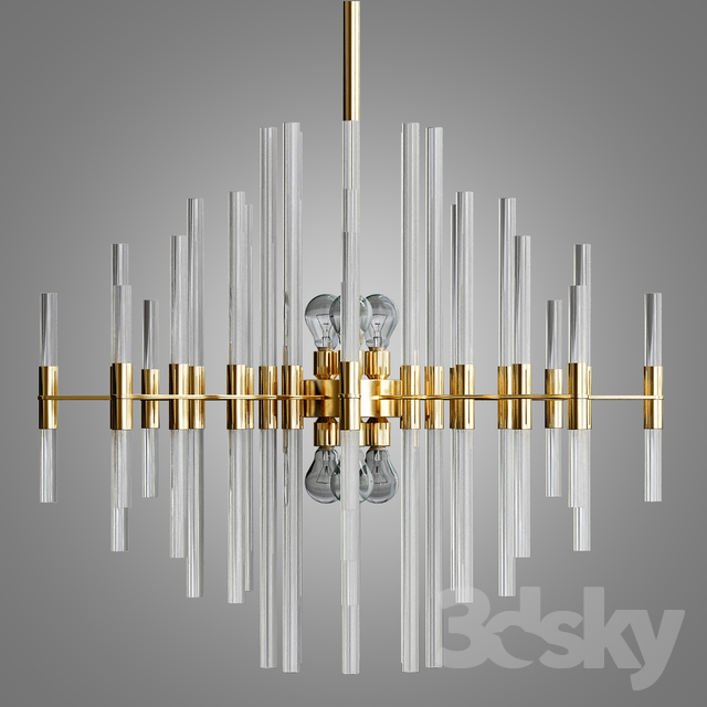 3d models ceiling light galaxy chandelier aged brass galaxy chandelier aged brass aloadofball Images