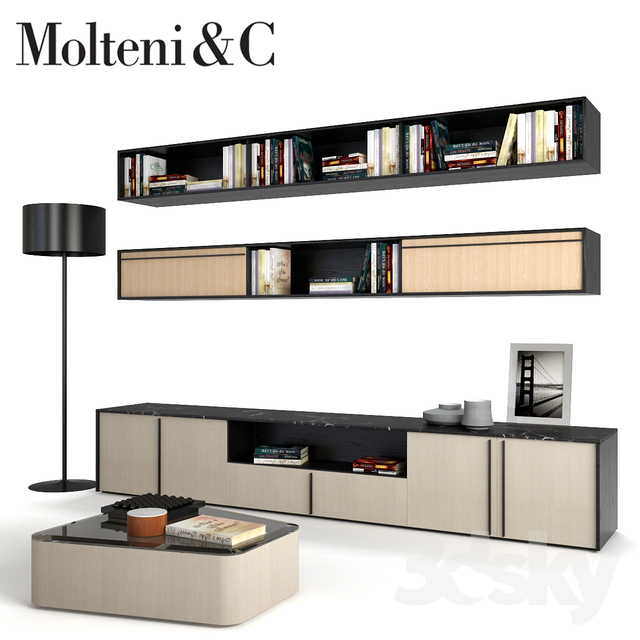 3d models other living room furniture molteni c pass for Living room 4 pics 1 word