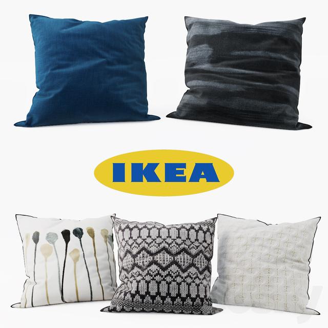 Ikea Decorative Pillows Simple 60d Models Pillows IKEA Decorative Pillows Set 60