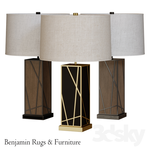 Robert Abbey Michael Berman Bond Tall Table Lamp