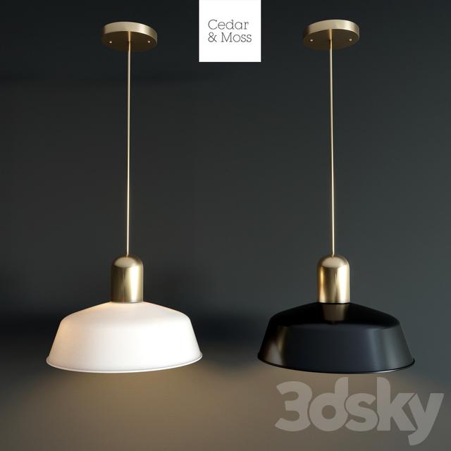 Lamp Sedar & Moss Meadowlark