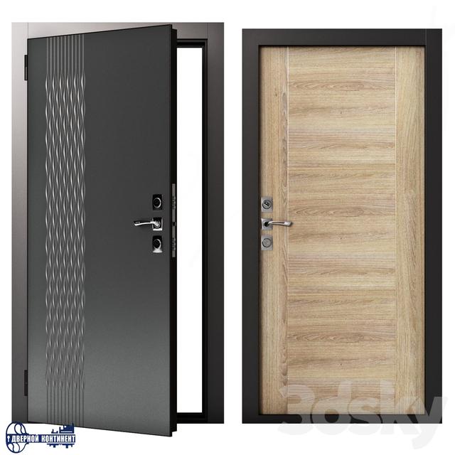 Entrance doors Continent-Gracia