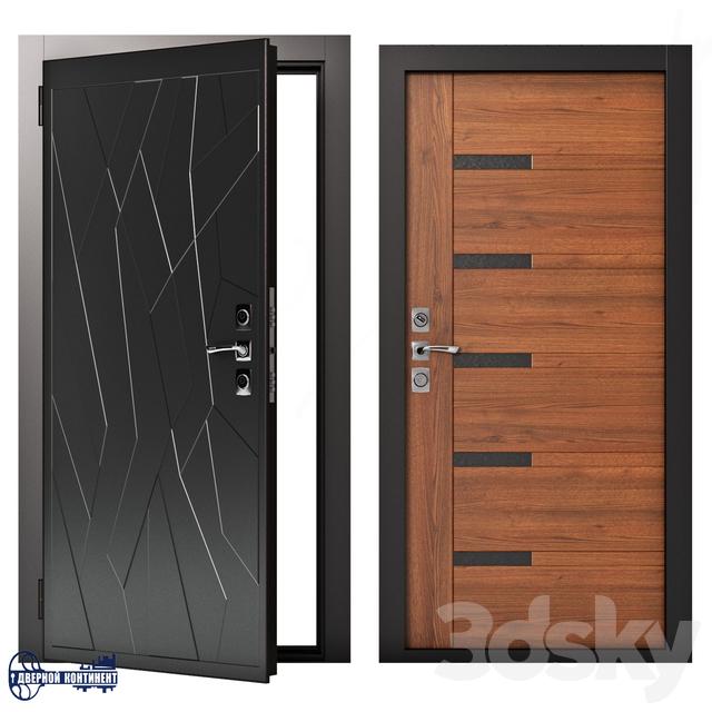 Entrance doors Continent-Modern