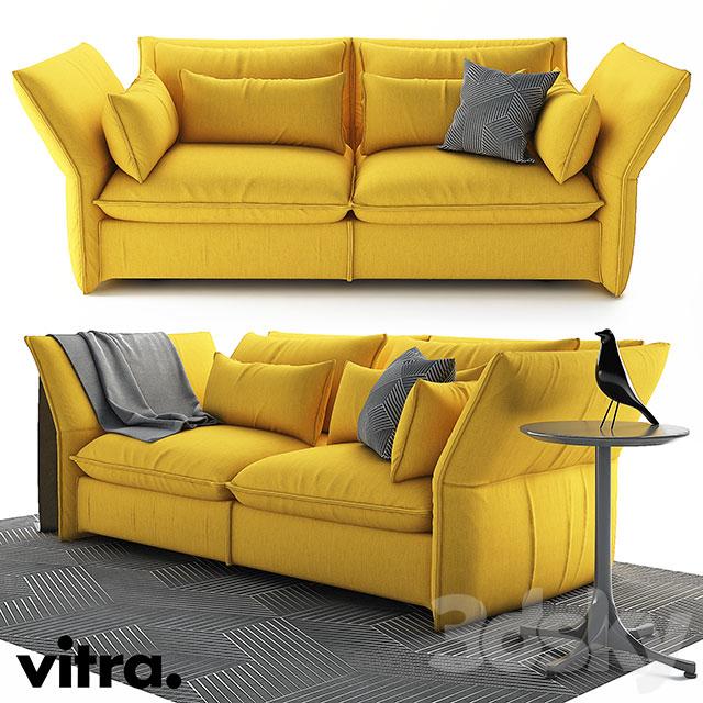 3d Models Sofa Vitra Mariposa Sofa