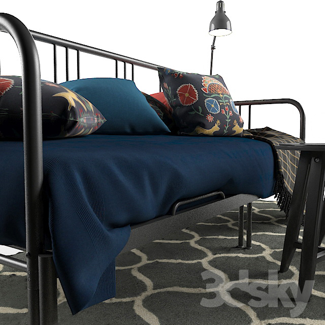 3d models other fyresdal ikea daybed hemnes ikea 8 for Daybed cushion ikea